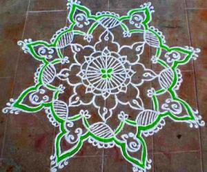 PURATTAASI 3rd SATURDAY KOLAM