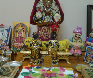 my mini hand crafted golu