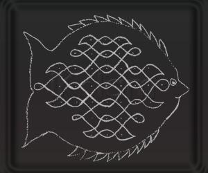 Rangoli: Fish