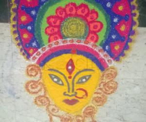 Vijaya Dasami Rangoli