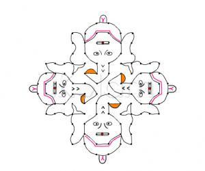 Ganesh chathurthi vinayakar rangoli