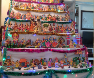Golu at my house