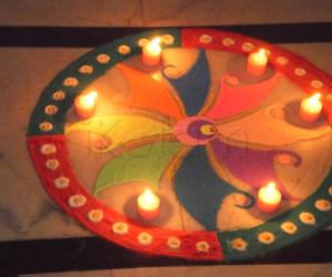 Diwali contest rangoli