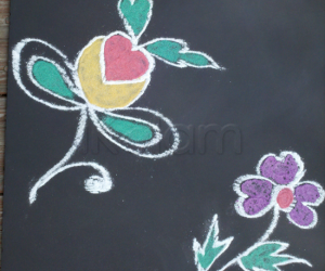 Rangoli: Simple designs