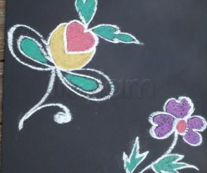 Rangoli: Simple designs