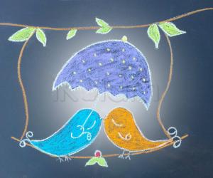 Rangoli: Birdies