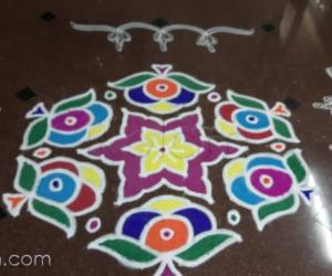 Diwali rangoli for contest