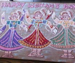 Rangoli: Happy Women's Day