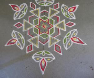 Rangoli: Happy tamil new year and vishu to all my friends