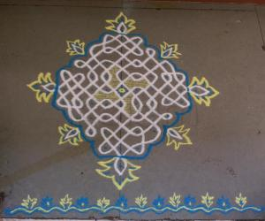 Margazhi Day 6 podikolam