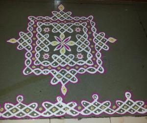 Rangoli: Margazhi Day 25