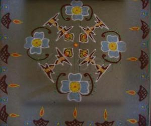 Lamp Kolam