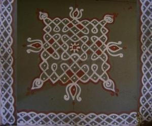 Rangoli: Friday Maakolam
