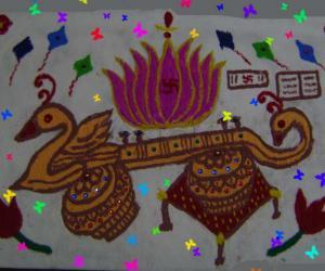 Vasant Panchami Kolam