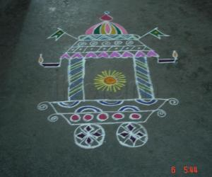 Freehand Ther Kolam