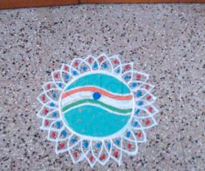 Rangoli: Independence Day Koalm