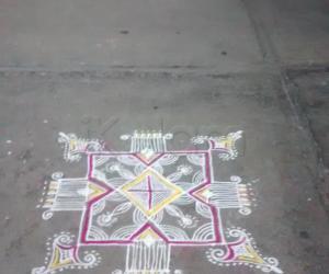 Rangoli: Freehand
