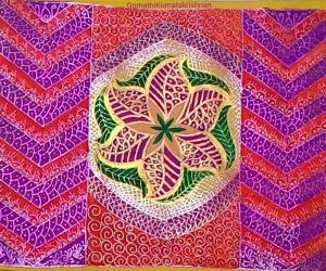 Rangoli: Glitter designs
