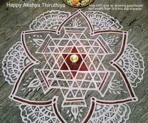 Rangoli: Akshya Thiruthiya