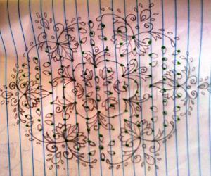 Pencil Drawing for Kala mam