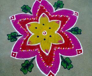 Rangoli: My son's birthday