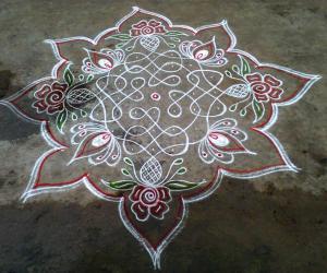 Rangoli: Margazhi Utsavam - 8