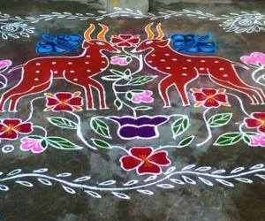 Rangoli: Margazhi Utsavam - 28 (Sunday)