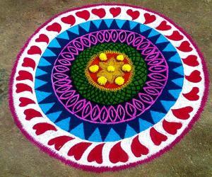 Rangoli: Happy Kanum Pongal 2014