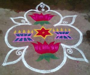 Rangoli: Margazhi Utsavam Day-9
