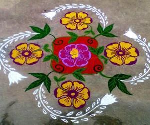 Rangoli: Margazhi Utsavam Day-27