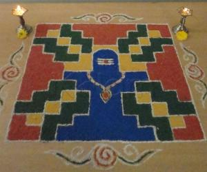 Rangoli: MahaShivaraathri