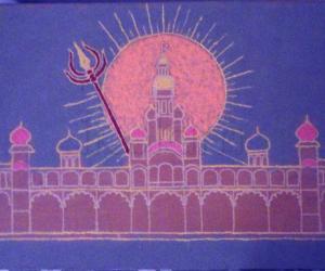 Rangoli: Happy Vijayadashami