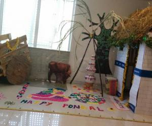 Pongal Decor at Work
