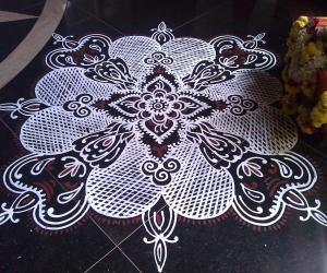 2012 Ganseh Chathurthi- Lobby- Inspired by Lakshmi Raghu