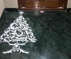 Rangoli: 2016-Christmas tree