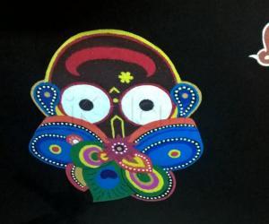 Rangoli: 2017-Puri Ratha Yatra-3