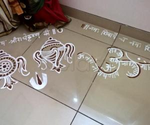 Rangoli: 2017-Vaikunta Ekadasi-2