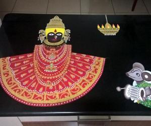 Rangoli: 2017-Varalakshmi Vratam-2