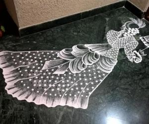 Rangoli: 2017-Women's Day-1