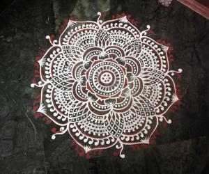 Rangoli: 2018- Vasantha Navratri, Ugadi