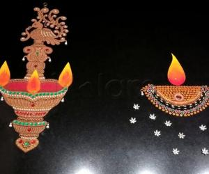 2018- Kartigai Deepam- Kitchen counter top