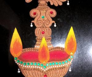 2018- Kartigai Deepam- Kitchen counter top