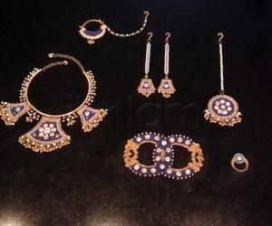 2018- Meenakari/Enamel work- Rajasthani jewellery for the Divine Goddess....