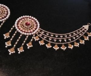 2018-  Bahubali earrings for the Goddess-2