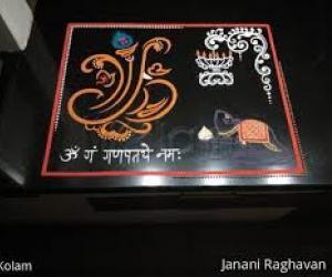 2020- Ganesh Chaturthi- Ganesha, His Mouse and Diya....