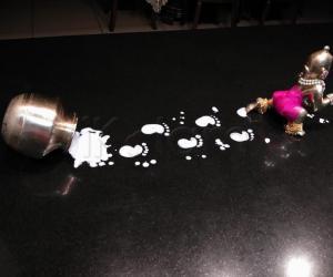 2019-Janmashtami- Krishna with spilt butter...
