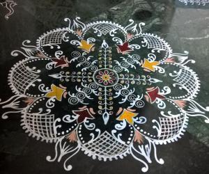 2016-Durga namaskaram Pooja- Sandhya