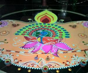 Rangoli: 2015-Diwali -2