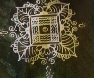 Rangoli: Home basic kolams-9