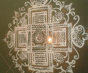 Rangoli: Home basic kolams-1